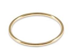 E Newton Classic Gold Thin  Band Ring