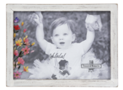 Floral Decaled Frame with Two Color Choices