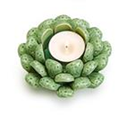 Small  Succulent Candle Holder A ***Local Pickup Only***