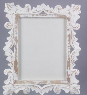 Mango White Washed Frame 8x10