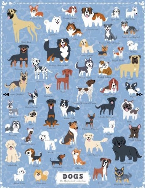 Dogs 500 Pc Puzzle