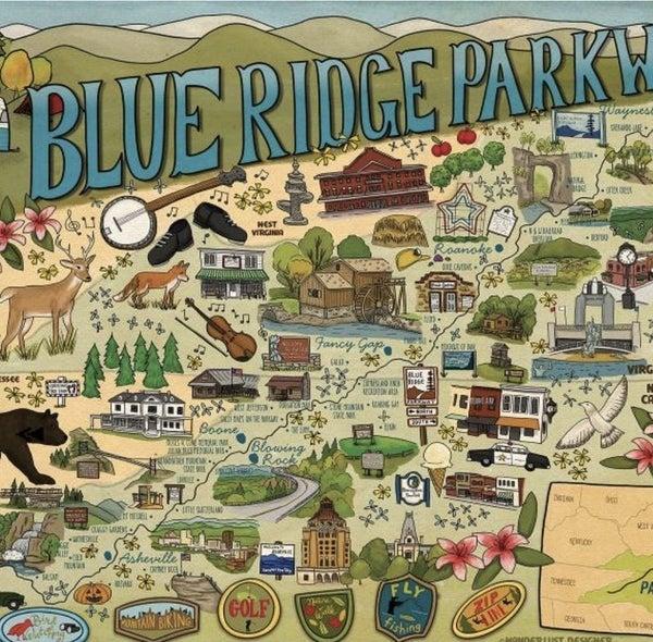 Blue Ridge Parkway 500 Pc Puzzle