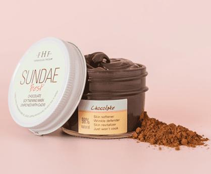 Sundae Best Chocolate Softening Mask