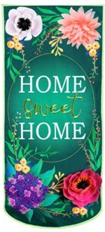Floral Home Sweet Home Everlasting Impressions