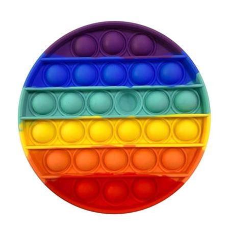 Rainbow Circle Pop Fidget Toy