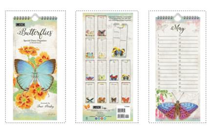 Butterflies Special Dates Organizer