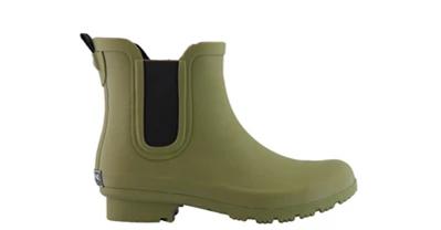 Chelsea Matte Olive Women's Rain Boots