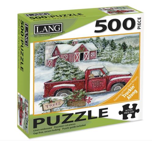 Santa's Truck 500 Pc Puzzle