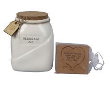 Ceramic Blessing Jar w  Cards