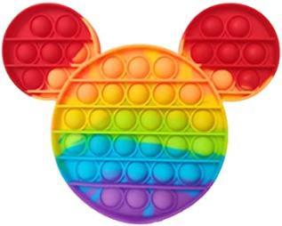 Rainbow Mickey Mouse Pop Fidget