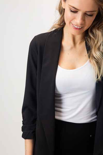 Lightweight Blazer Black