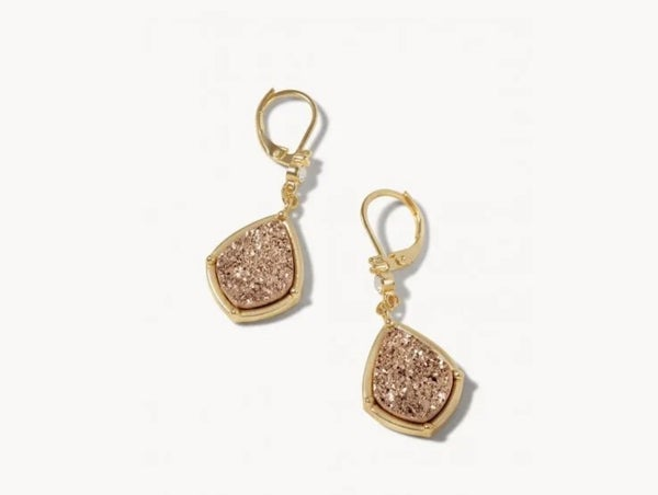 Spartina Earrings Druzy Drop