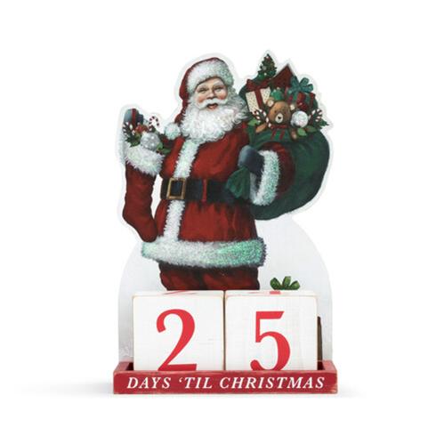Santa Gift Bag Christmas Countdown