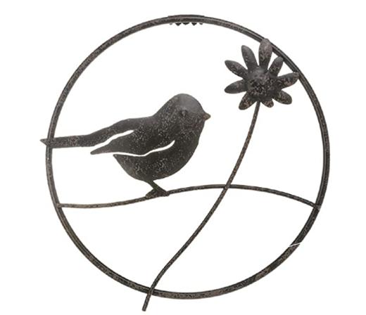 Bird Circle Wall Art