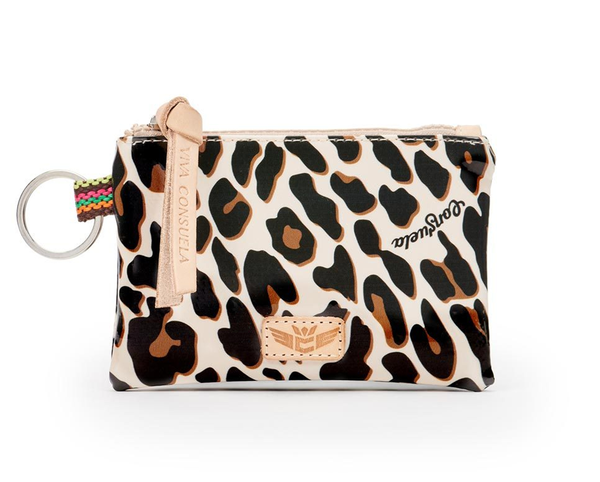 Teeny Pouch Mona Brown Leopard