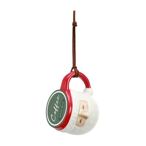 Santa Coffee Pod Mug Ornament