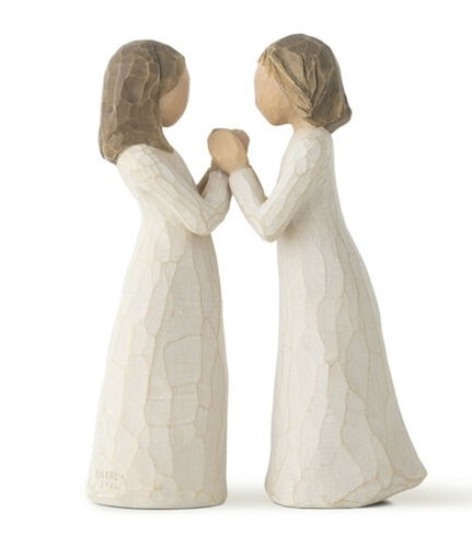 Sisters by Heart Willow Tree