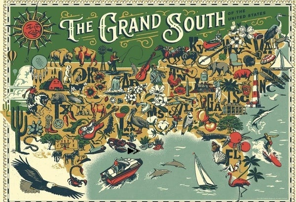 The Grand South 500 Pc Puzzle