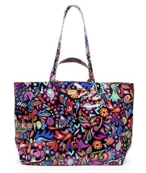 Grab 'n' Go Jumbo Sophie Bag Black Swirly