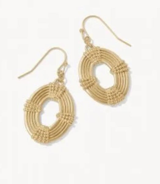 Spartina Medallion Earrings