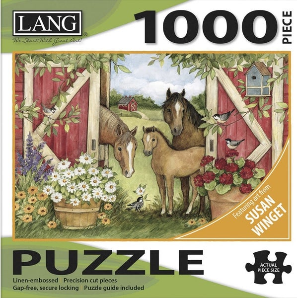 Lang Heartland Barn Puzzle 1000 Pc