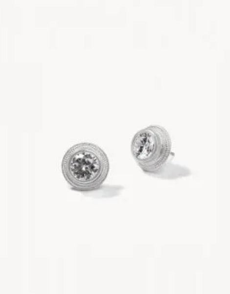 Spartina Sparkle Stud Earrings