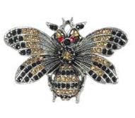 Bee Magnetic Brooch