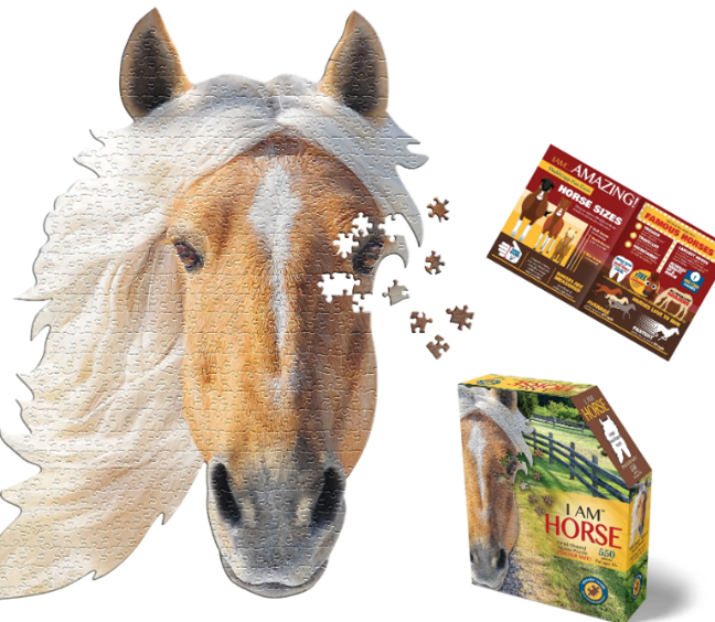 Puzzle I Am Horse