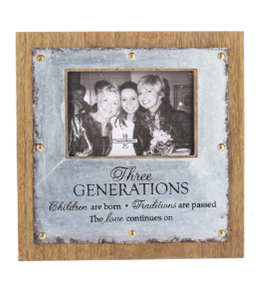 3 Generations Photo Frame