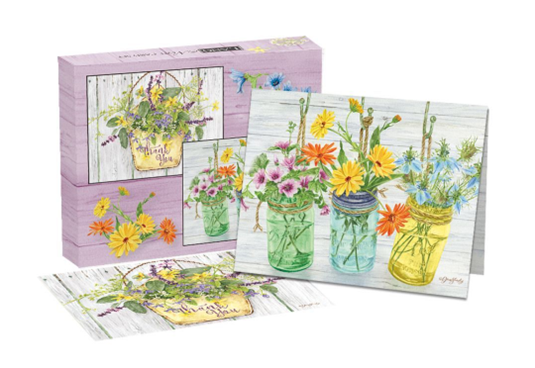 Herb Garden Assorted Boxed Note Cards