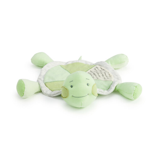 Grow Slow Turtle Rattle Blankie