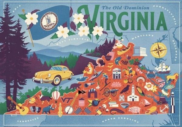 Virginia 500 Pc Puzzle