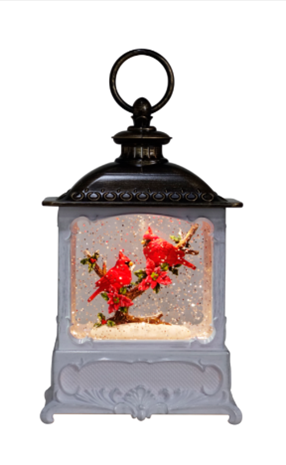 Cardinal Glitter Lantern Two Tone ***Local Pickup Only***