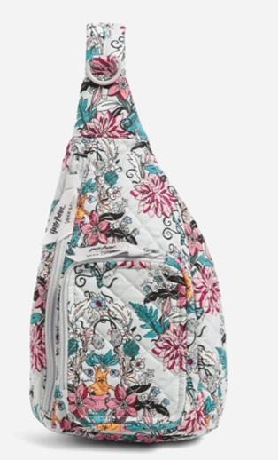 Vera Bradley Harry Potter Mini Sling Backpack Herbology