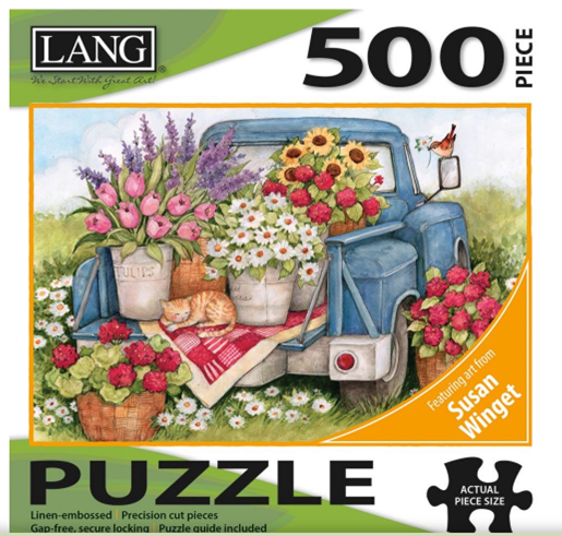 Lang Puzzle Fresh Bunch 500pc