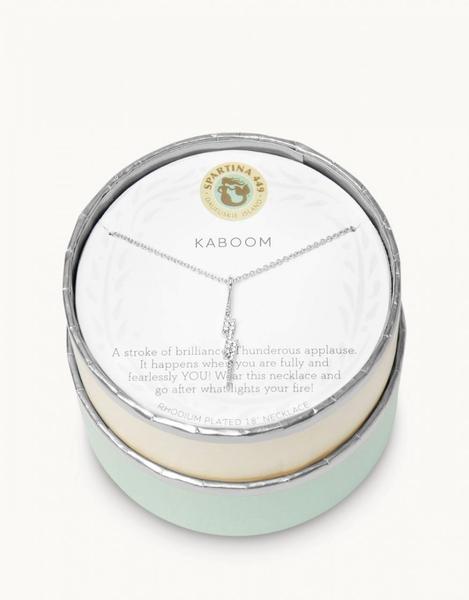 Sea La Vie Kaboom Necklace Silver