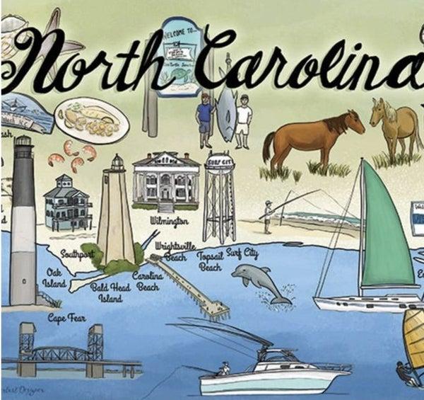 NC Coast 750 Pc Puzzle