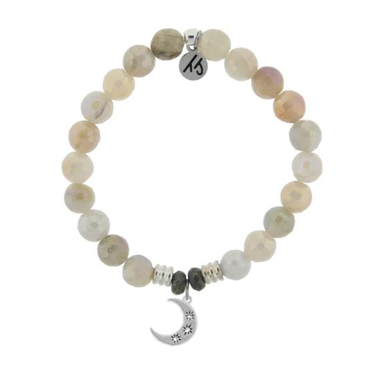 Moonstone Friendship Stars Bracelet