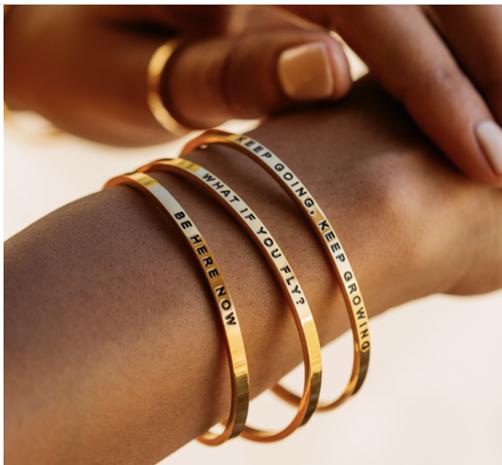 Mantra Band Bracelets