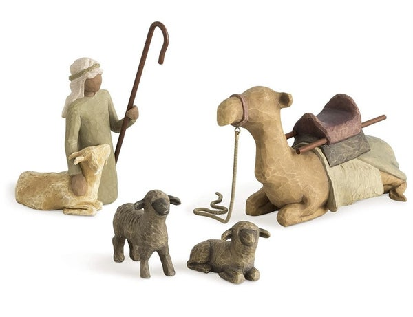 Shepherd and Stable Animals Willow Tree ***Local Pickup Only***