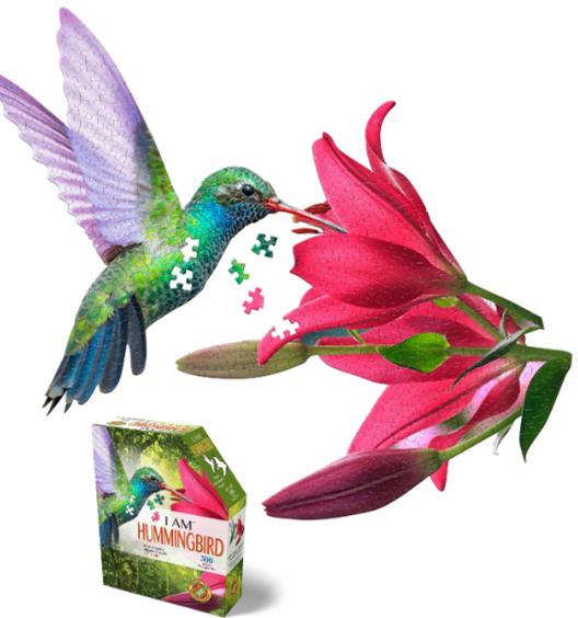Puzzle I Am Hummingbird