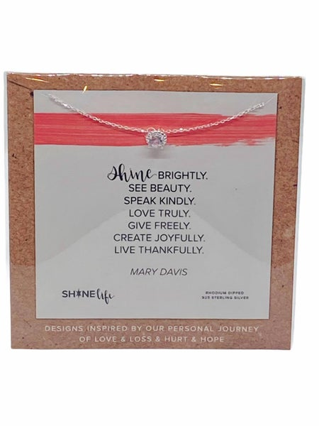 Shine Brightly See Beauty Necklace by ShineLife