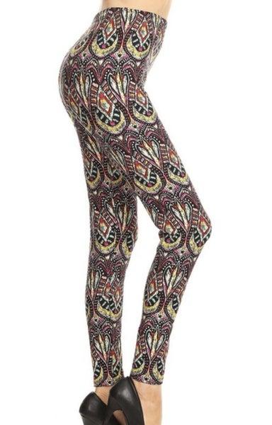 Wild Pattern Legging