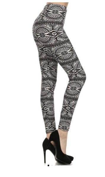 Geometric Print Legging
