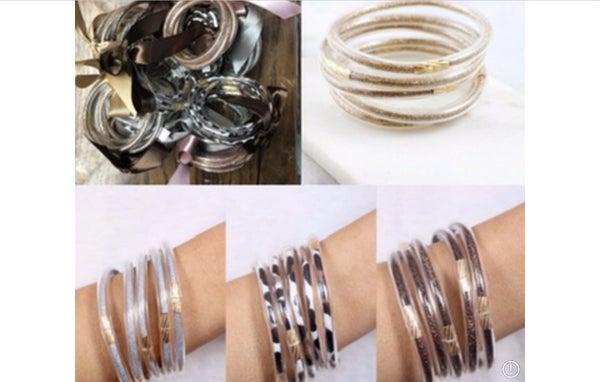 Glitter Bangle Bracelets