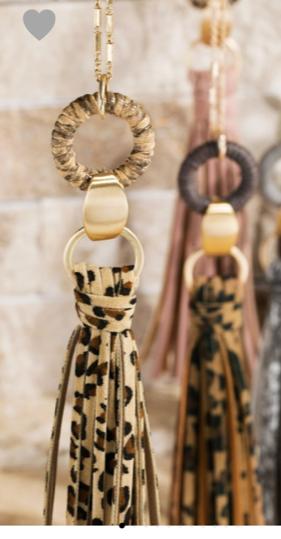 Leah Tassel Necklace