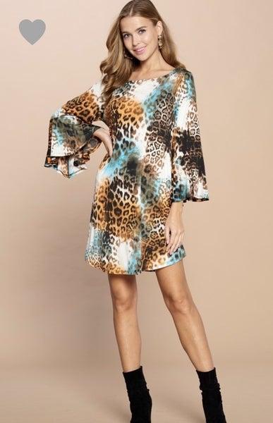 Turquoise Kyra Dress