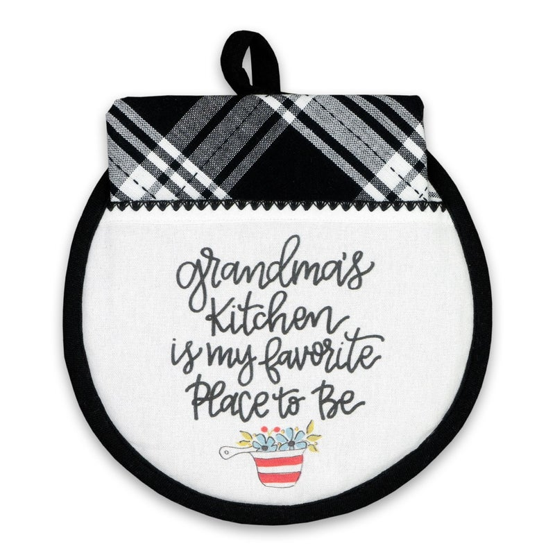 *FINAL SALE* Hot Pad & Tea Towel Set by Brownlow Gifts