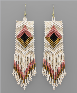 Dashing Geometric Earrings