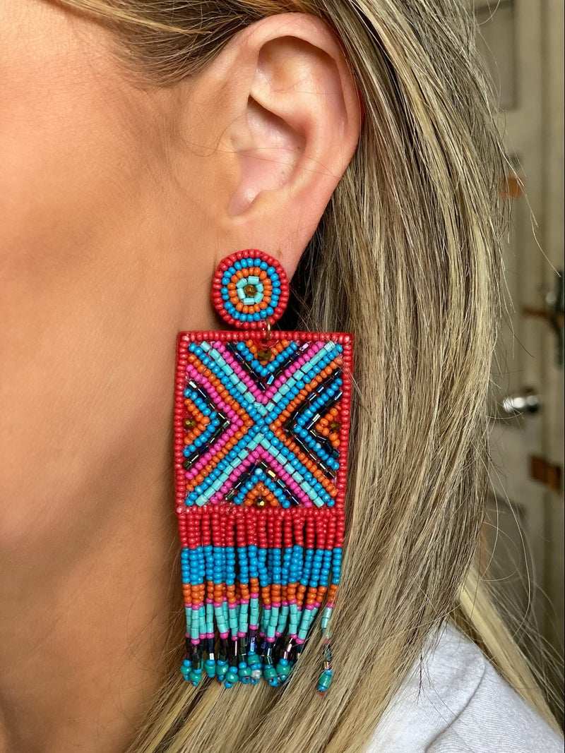Simply Square Earrings